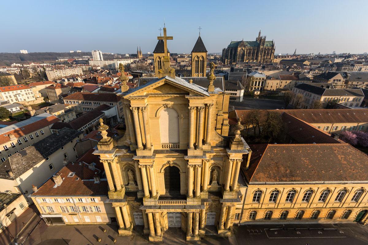 Fly-Pixel reportage patrimoine Moselle - Alsace - Lorraine