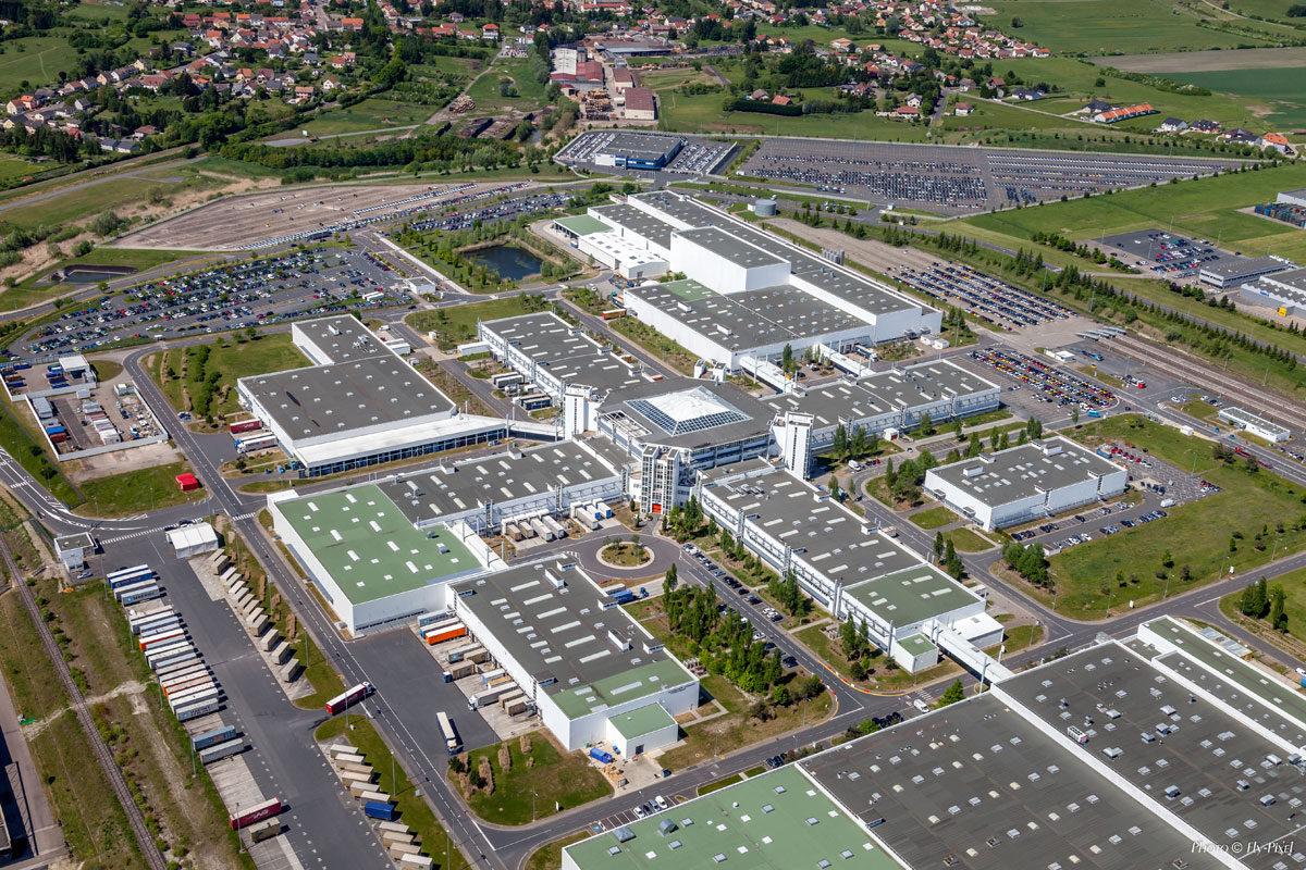 Fly-Pixel photographie aérienne usine