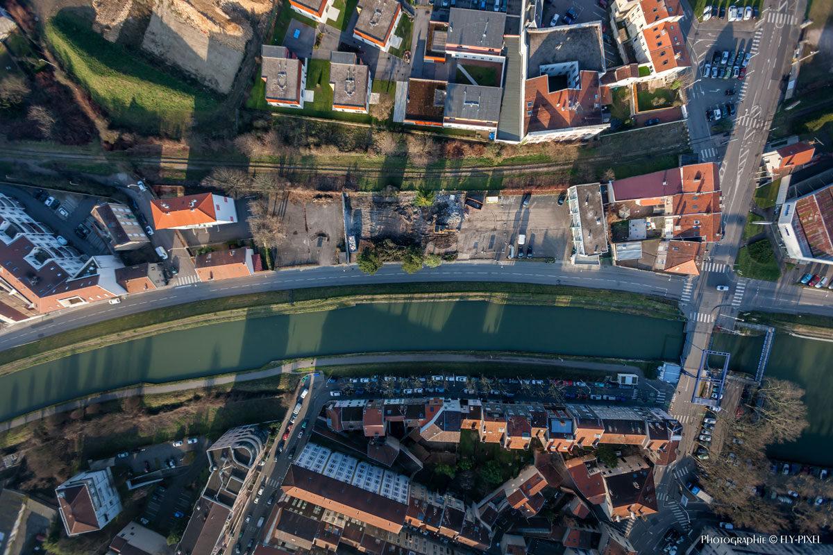Fly-Pixel photographie aérienne Moselle - Alsace - Lorraine