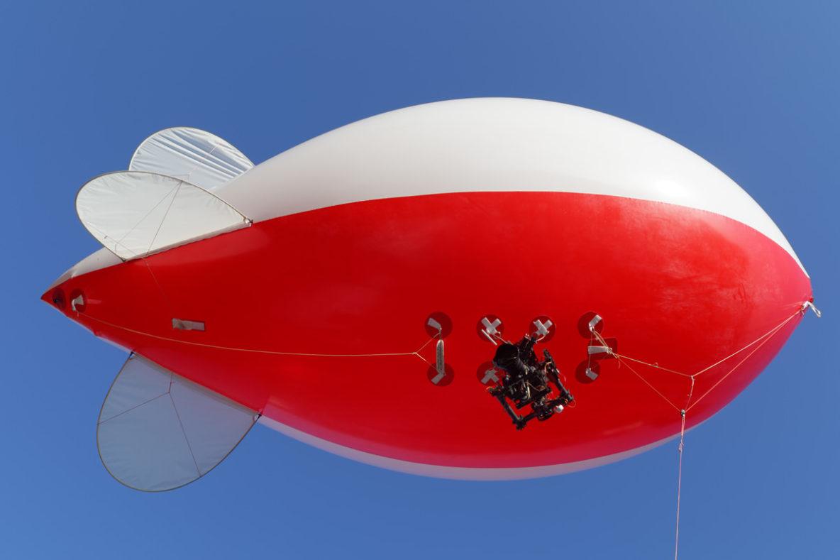 ballon et nacelle pour la prise de vue aerienne par drone à creutzwald, sarreguemines, forbach et Metz