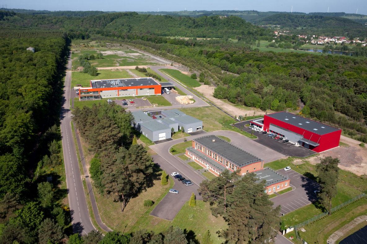 photo aérienne drone grand est, Lorraine, Moselle, entreprise